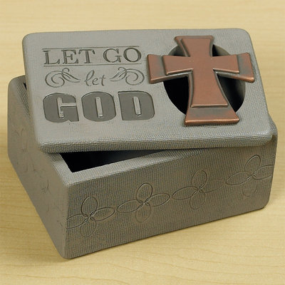 """Let Go, Let God"" Trinket Box"