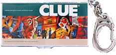 Clue Board Game Keychain