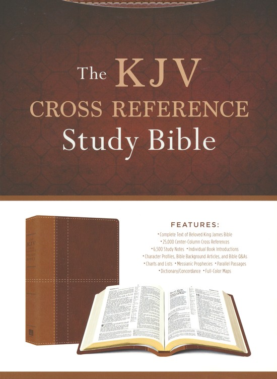 The KJV Cross Reference Study Bible [9781683224679] - $29.99 : Atmosphere Books & Gifts, Enlighten your Mind, Heal your Body, and Uplift your Spirit. }