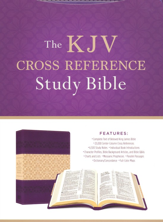 The KJV Cross Reference Study Bible [9781683224686] - $29.99 : Atmosphere Books & Gifts, Enlighten your Mind, Heal your Body, and Uplift your Spirit. }